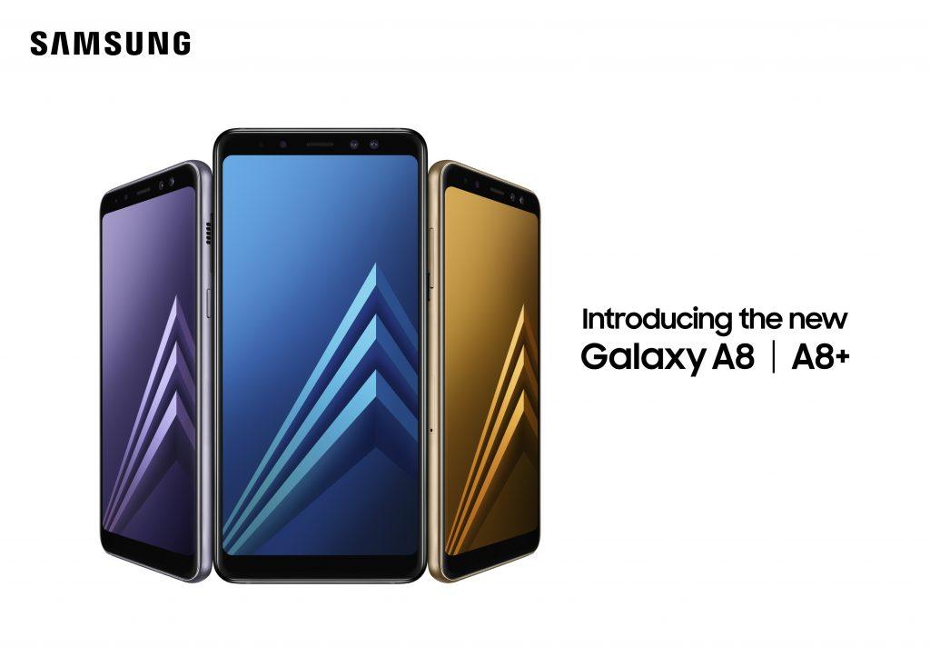 Samsung Galaxy A8 & A8 + 2018