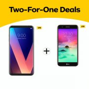 2 for 1 Deal LG V30Plus & k10 2017