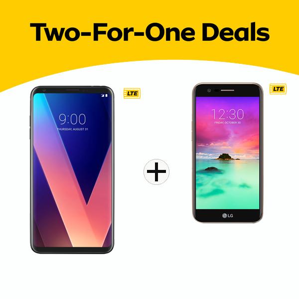 2 for 1 Deal LG V30Plus & k10 2017