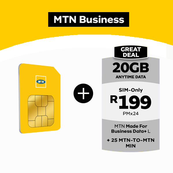 Mtn Sim Only 20gb At R199 Data Deals Mtn Cosmo Net Great Mtn Deals