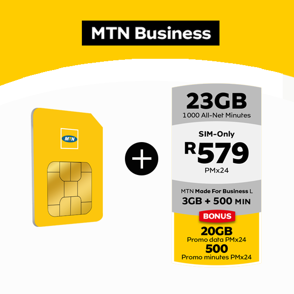 MTN Sim Only 23GB at 579Data Deals