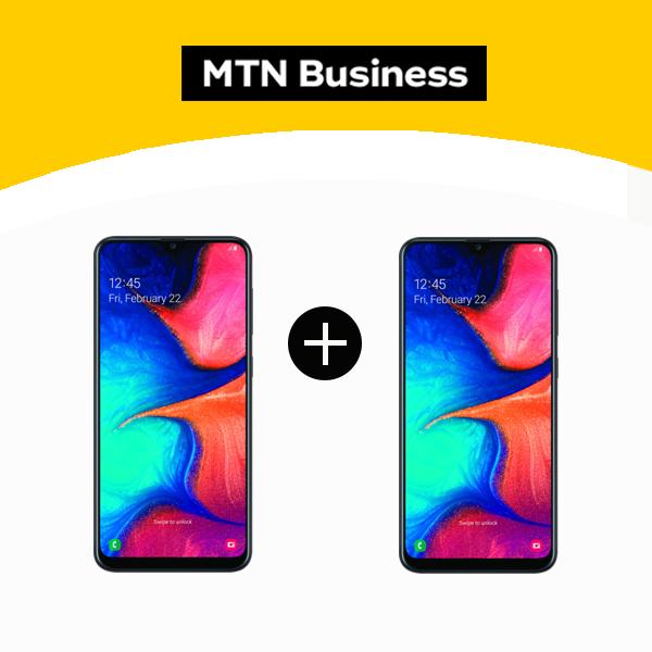 1. Samsung A20 +Samsung A20 Business Deal