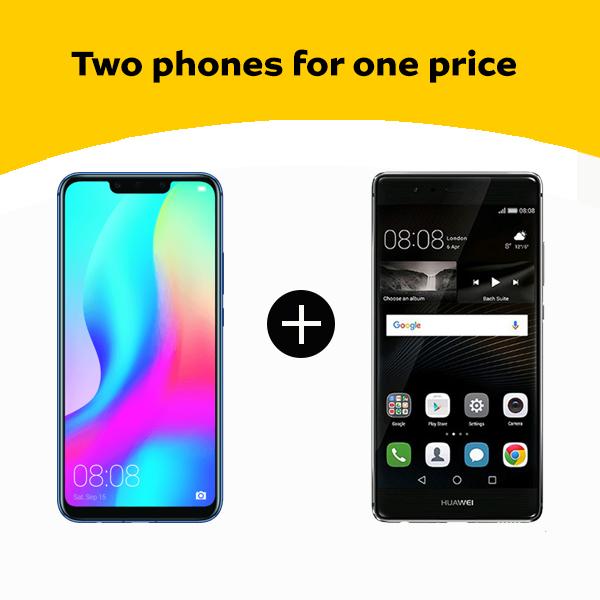 Huawei Mate 20 + Huawei P9 2