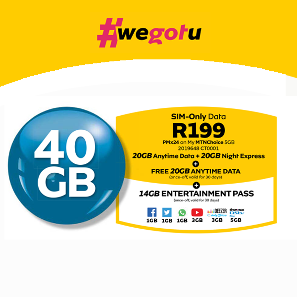 Data Deals 40GB Easter Special